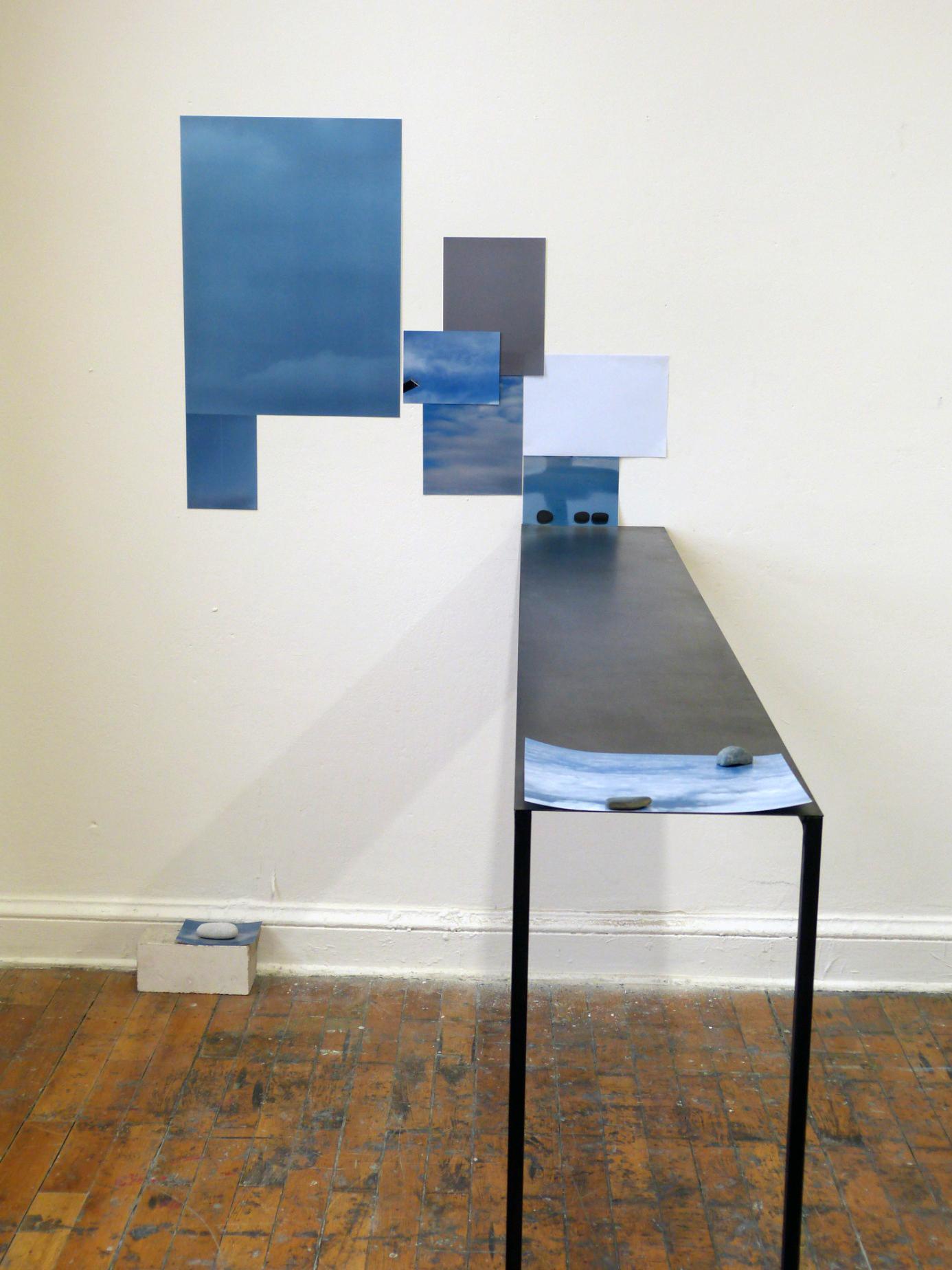 Mimi Kunz o.T. Installation (Sprungbrett) 2012