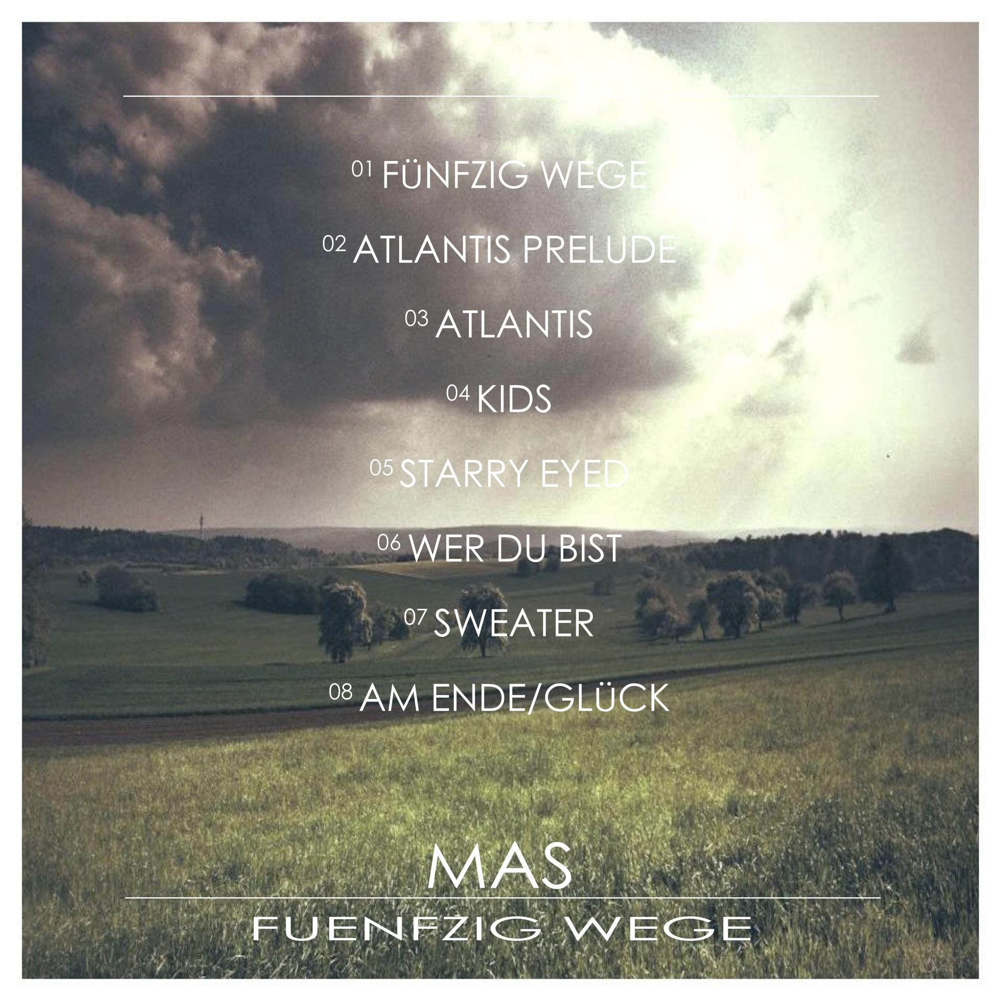 MAS - 50 Wege EP Cover Front