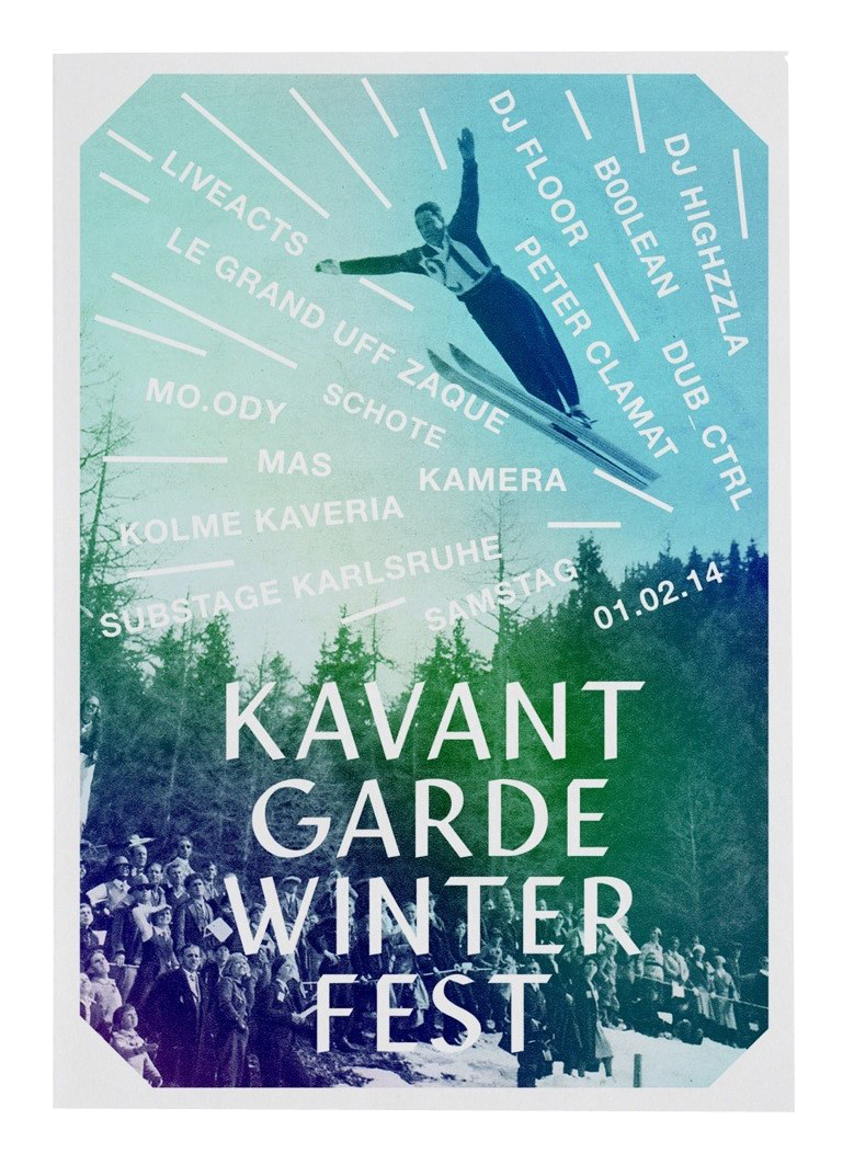 KAVANTGARDE WINTERFEST 2014