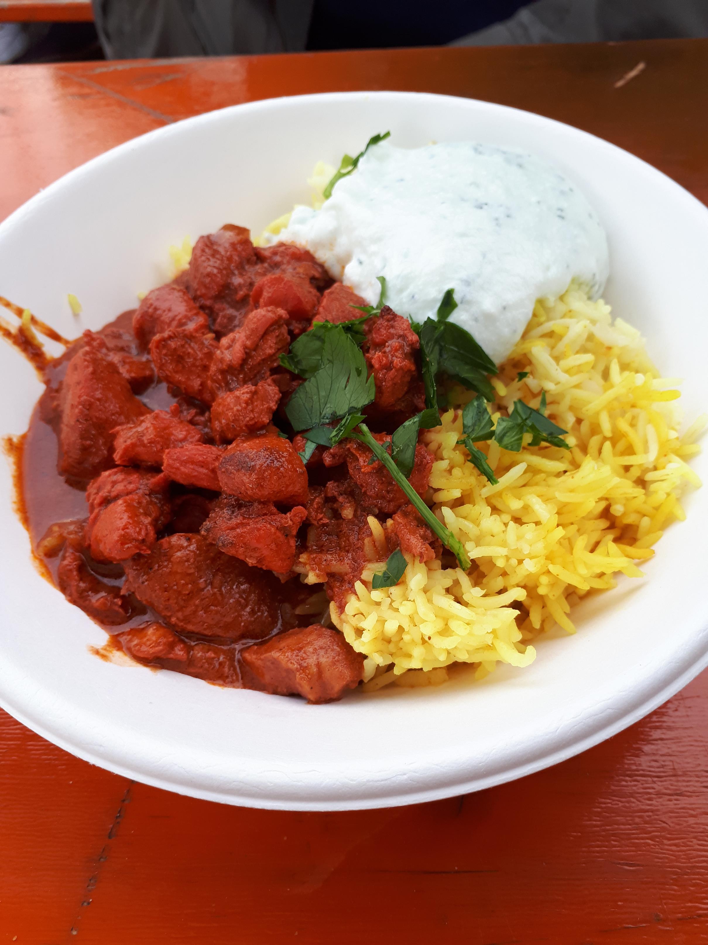 """Tandoori-Chicken von """"Pittys Indian Food"""""""