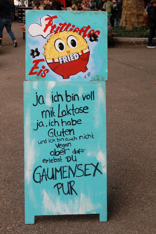 """Frittiertes Eis verspricht """"Gaumensex pur""""!"""