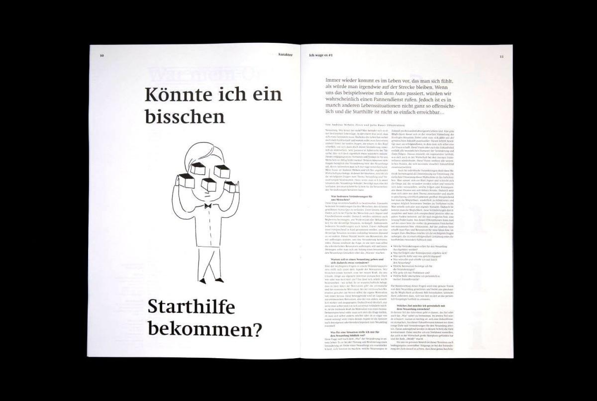 Julias Illustrationen zu Andreas Webers Artikel.