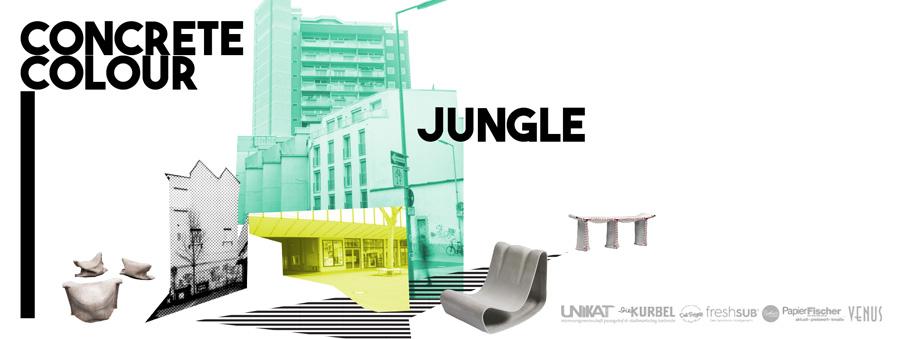 Concrete Colour Jungle Karlsruhe