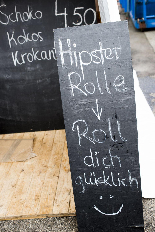 Foodfestival Karlsruhe Hipster Rolle 2