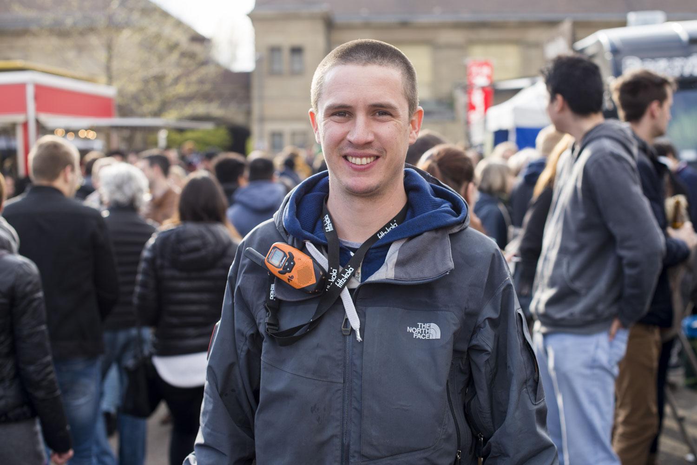 Vincent Schmidt, einer der drei Veranstalter der Street Food Festivals