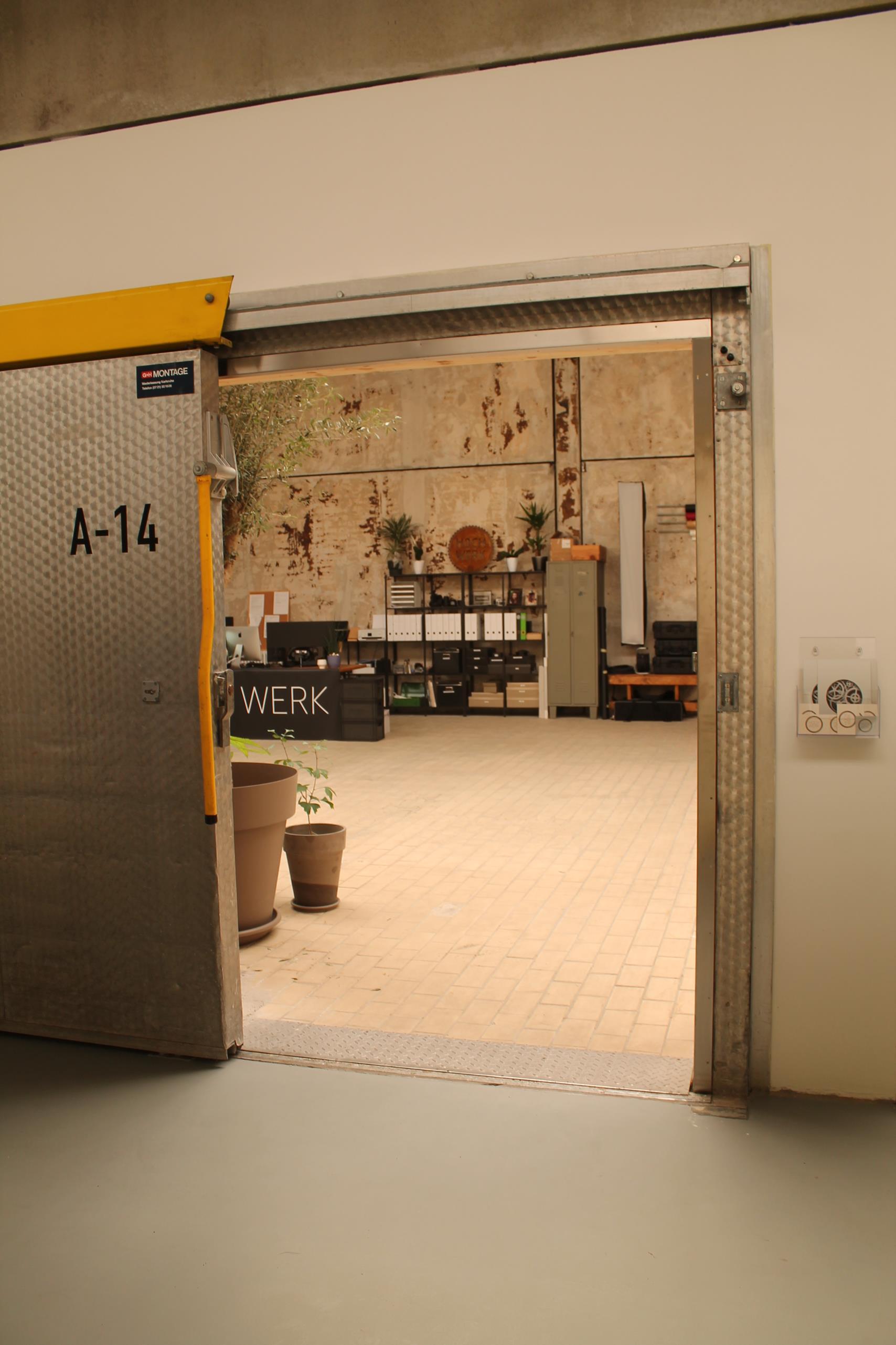 Das Studio von HOCH WERK von außen: A14