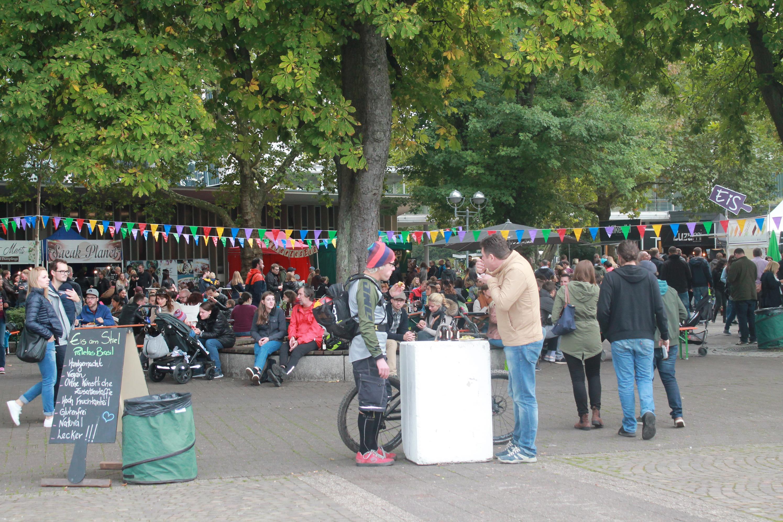Auf dem Street Food Festival heißt es wieder: Schlemmen, was das Zeug hält!