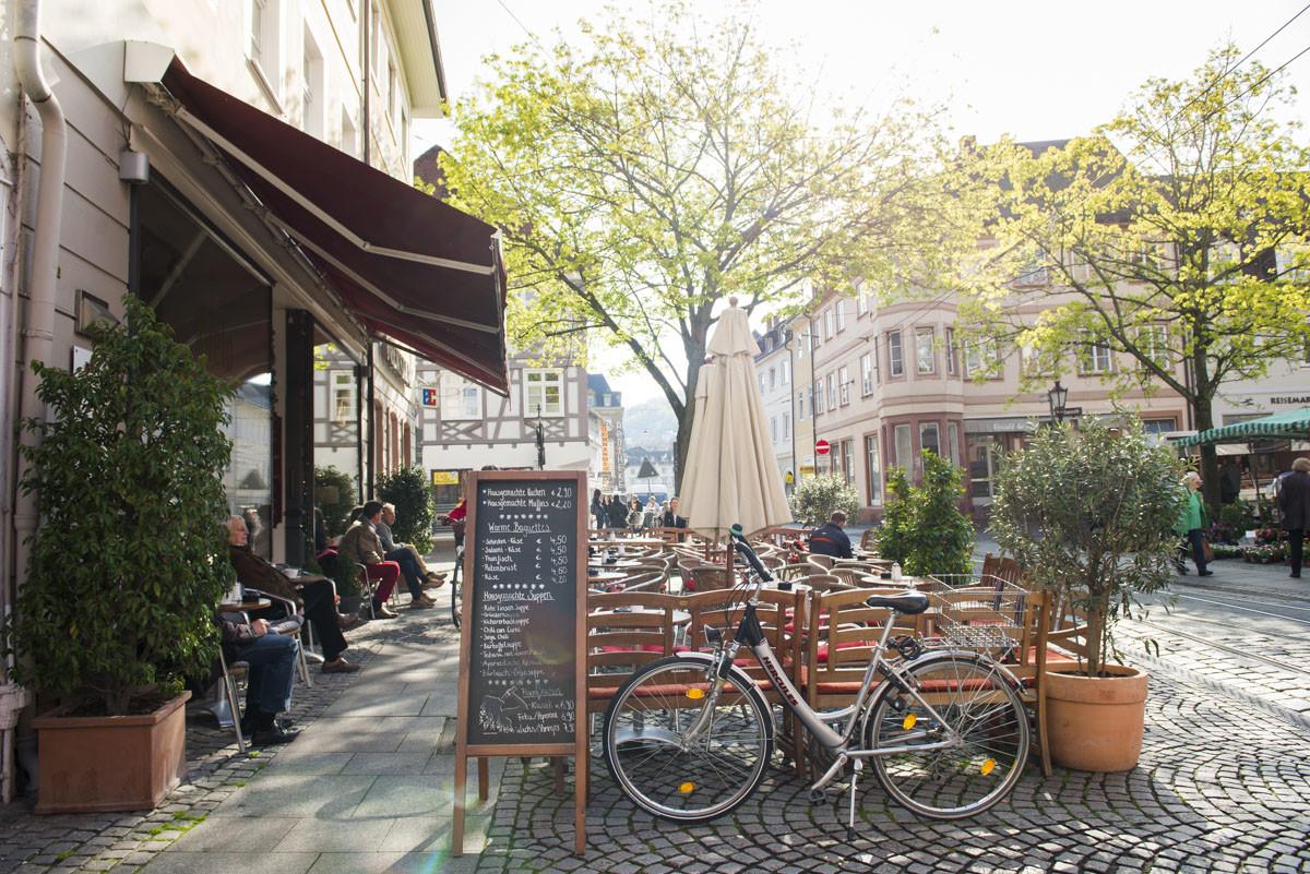 Kavantgarde Lieblingscafe Karlsruhe Cielo Terrasse