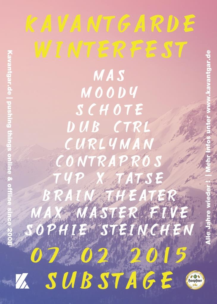 Kavantgarde Winterfest 2015