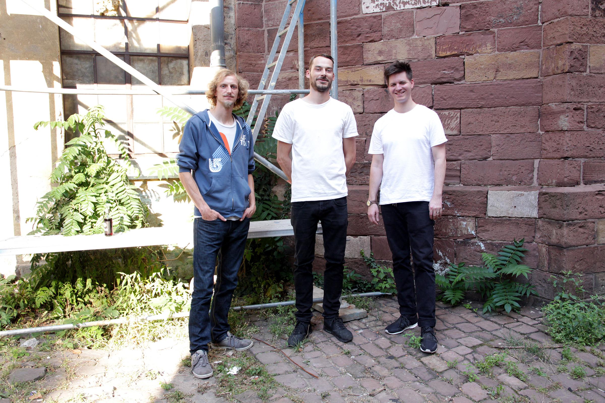 Thorsten Schwanninger, Nicolaz Groll, Kilian Kretschmer (v.l.)
