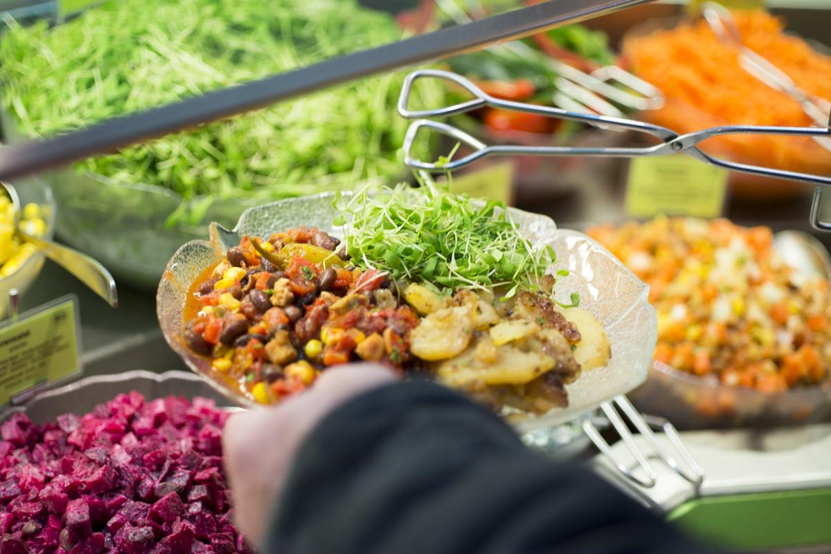 Da habt ihr den Salat: im Viva nämlich