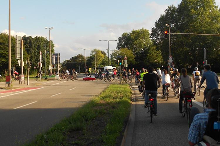 Critical Mass Karlsruhe: Klein aber fein