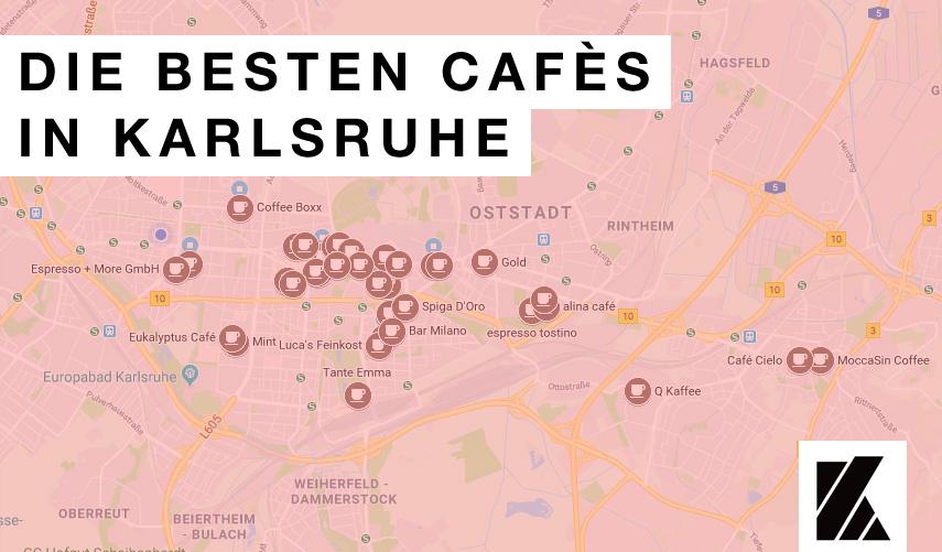 Die besten Cafés der Stadt Karlsruhe