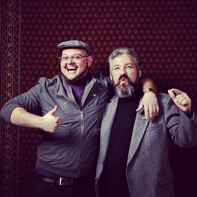 Pascal & Craig beim Turtleneck Club Karlsruhe 2014